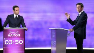 Γαλλία: Προβάδισμα του Αμόν έναντι του Βαλς μετά το debate