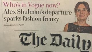 Αλεξάντρα Σούλμαν: αποχωρεί από τη Vogue για να ζήσει χωρίς μόδα