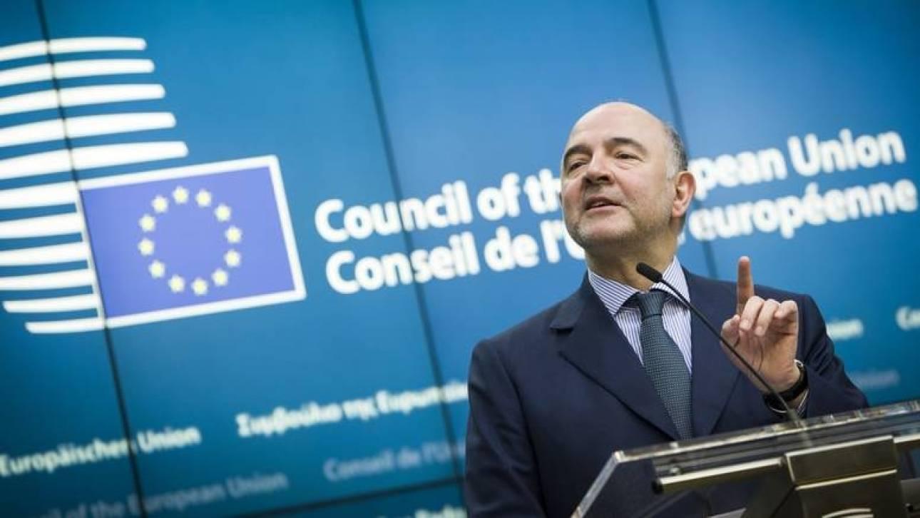 Μοσκοβισί στο Eurogroup: Απαραίτητος εταίρος το ΔΝΤ