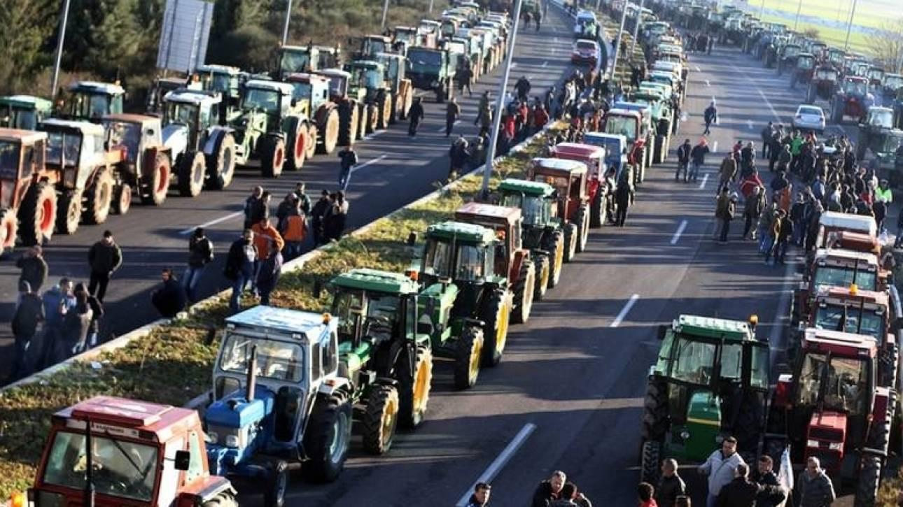 Αποτέλεσμα εικόνας για μπλοκα αγροτων