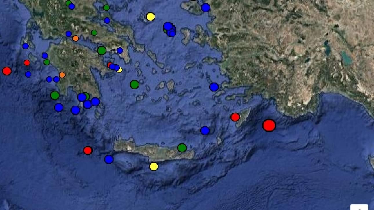 Αποτέλεσμα εικόνας για σεισμός στη ροδο
