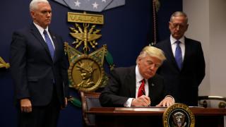 Αλλαγή εποχής με υπογραφή Τραμπ στο πρόγραμμα υποδοχής προσφύγων