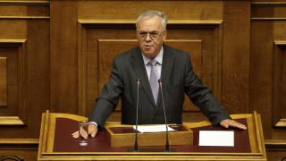 Γ. Δραγασάκης: Δεν πάμε σε πρόωρες εκλογές