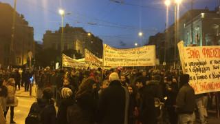 Αντιφασιστική πορεία και διαδηλώσεις στην Αθήνα (pics)