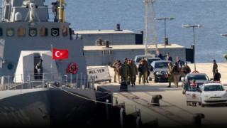 Φωτογραφίες από την νέα τουρκική πρόκληση στα Ίμια