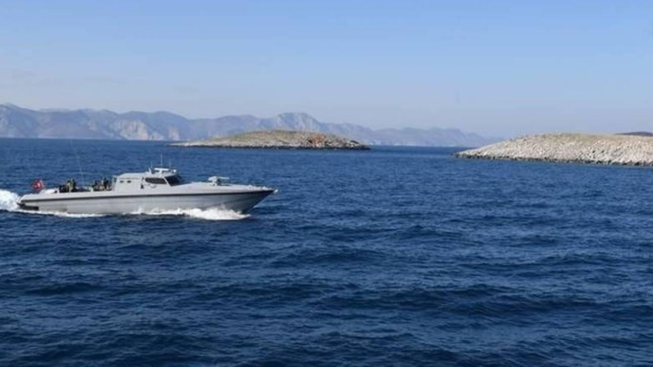 """reactie van Griekenland tot de """"games"""" Turken Imia (foto & vid)"""