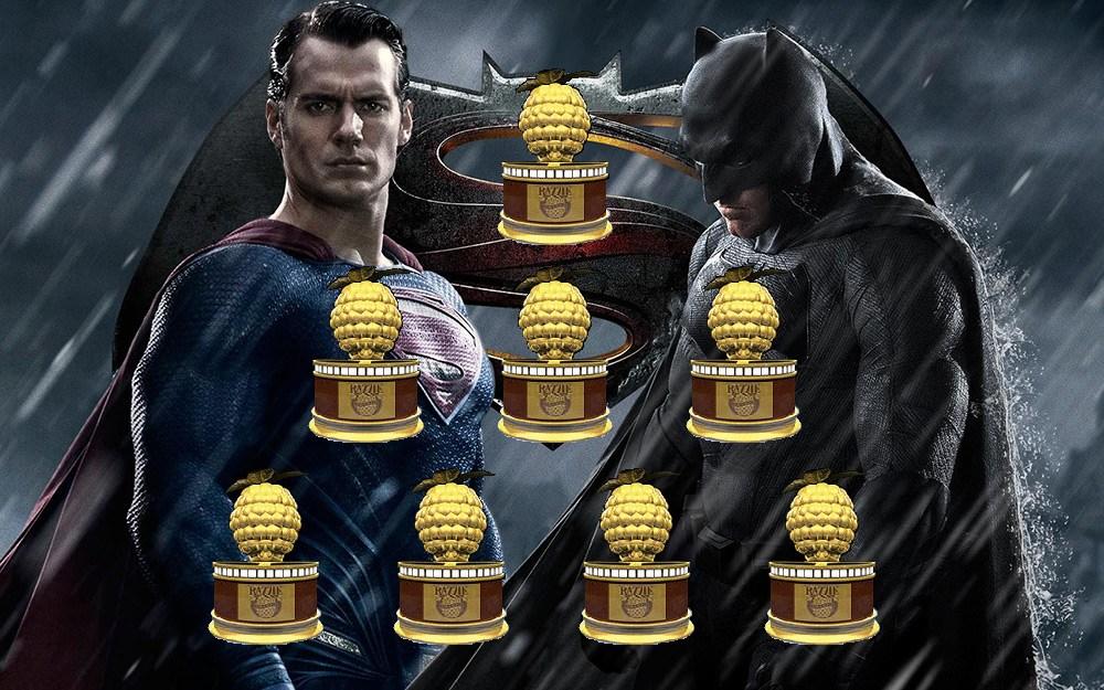 Batman vs Superman razzie