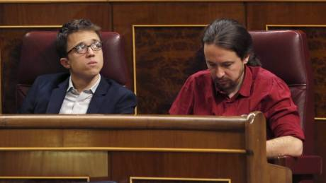 Ράγισε το γυαλί στις σχέσεις των δύο ηγετών των Podemos