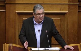 Κουτσούμπας από τη Βουλή: «Παραμύθια» τα περί διαπραγμάτευσης