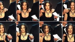 SAG Awards: Γιατί η Γουινόνα Ράιντερ έκανε αυτές τις γκριμάτσες;