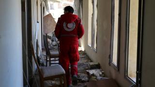 Συρία: Στελέχη της Ερ. Ημισελήνου τραυματίστηκαν από επιδρομή στα γραφεία της