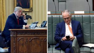 Το επεισοδιακό τηλεφώνημα του Τραμπ με τον Αυστραλό πρωθυπουργό
