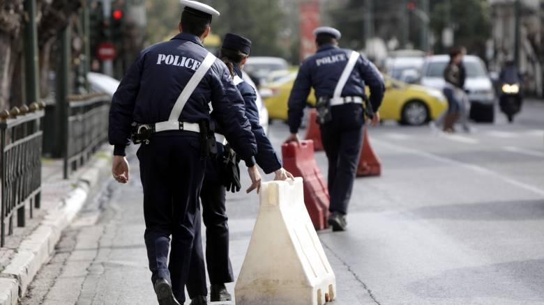 Κυκλοφοριακές ρυθμίσεις την Κυριακή στο κέντρο της Αθήνας