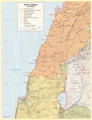 Ο Λίβανος το 1977