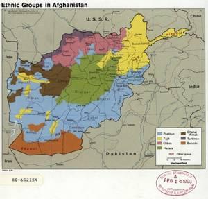 Οι εθνικές ομάδες στο Αφγανιστάν το 1979.