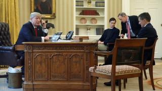 Τηλεφωνικές επικοινωνίες Ντόναλντ Τραμπ με Ποροσένκο και Τζεντιλόνι