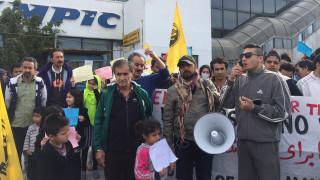 Απεργία πείνας κάνουν οι πρόσφυγες στο Ελληνικό (vid & pics)