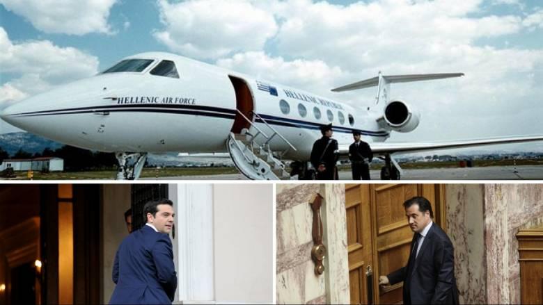 Συνεχίζεται ο «πόλεμος» για τη στάση του πρωθυπουργικού αεροσκάφους στο Παρίσι