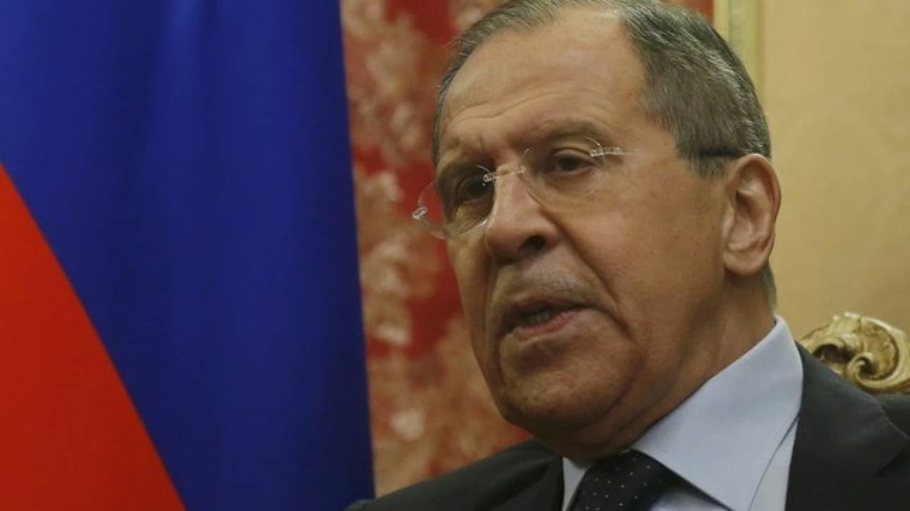 Λαβρόφ: Είμαστε υπέρ της συνέχισης συνομιλιών για τη συριακή κρίση