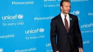 Η Unicef στηρίζει τον Μπέκαμ και δηλώνει υπερήφανη για το έργο του