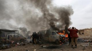 Συρία: Συμμαχικοί βομβαρδισμοί στη Ράκα με στόχο το Ισλαμικό Κράτος