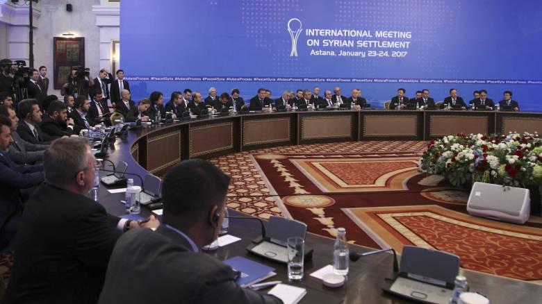 Διάσκεψη για τη Συρία στο Καζακστάν