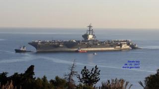 Στο λιμάνι της Σούδας το USS George Bush (pic&vid)