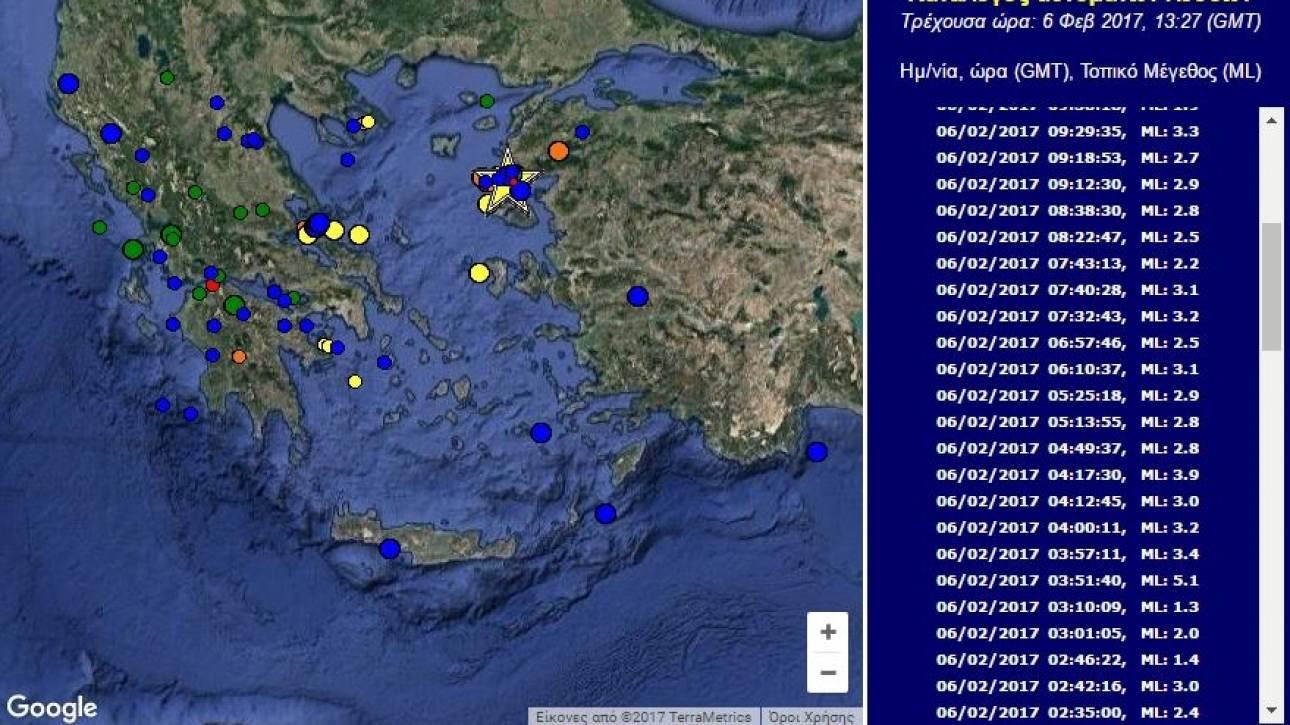 Σεισμοί στη Μυτιλήνη - Τι υποστηρίζουν οι επιστήμονες