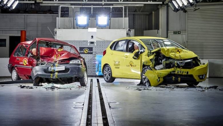 Πόσο πιο ασφαλή έχουν γίνει τα αυτοκίνητα την τελευταία 20ετία (vid);