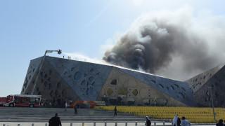 Στις φλόγες η νέα εντυπωσιακή Όπερα του Κουβέιτ (pics)
