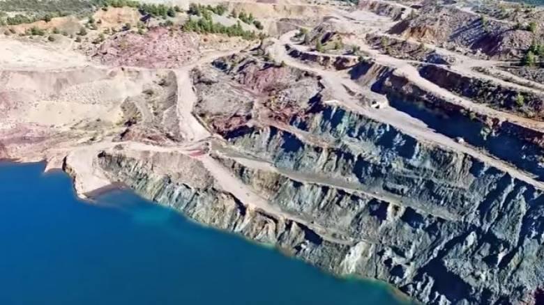 Η λίμνη των ανατινάξεων στην κεντρική Εύβοια (vid)