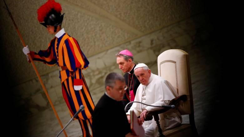 Πάπας Φραγκίσκος: Οι Χριστιανοί δεν χτίζουν τείχη αλλά γέφυρες