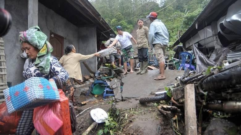 Ινδονησία: 12 νεκροί στο Μπαλί από κατολίσθηση