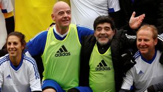 Επίσημη συνεργασία της FIFA και του Ντιέγκο Μαραντόνα