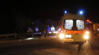 Σοβαρό τροχαίο στη Λάρισα με δύο τραυματίες