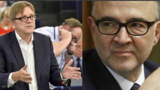Η δραματική προειδοποίηση Φερχόφστατ-Μοσκοβισί για το μέλλον της Ευρώπης