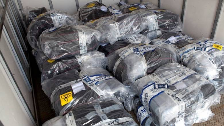 Οι αρχές της Κολομβίας κατέσχεσαν τεράστια ποσότητα κοκαΐνης με προορισμό τις ΗΠΑ