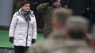 Σε σταθερή κατάσταση η πρωθυπουργός της Πολωνίας μετά το τροχαίο (pics)