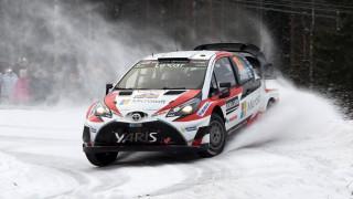 WRC: θέαμα που «κόβει την ανάσα» στο Ράλυ Σουηδίας