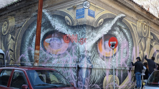 Επιδιόρθωσαν το πιο γνωστό γκράφιτι της Αθήνας με την κουκουβάγια
