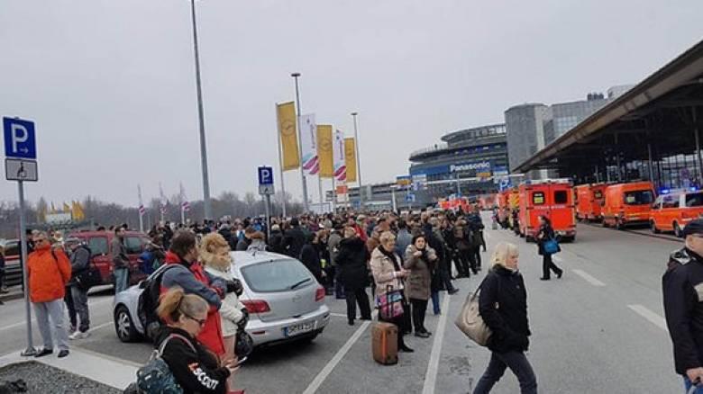 Εκκενώθηκε το αεροδρόμιο στο Αμβούργο - Ουσία δηλητηρίασε περισσότερους από 50 ανθρώπους