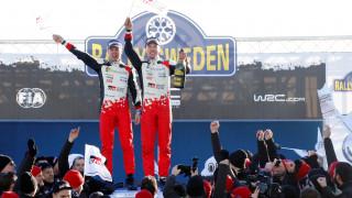 WRC: Λάτβαλα και Toyota θριαμβευτές στο θεαματικό Ράλυ Σουηδίας