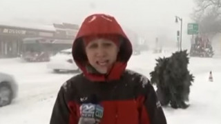«Bigfoot» κάνει την εμφάνισή του live σε δελτίο ειδήσεων (vid)