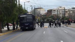 Ένταση στο μαθητικό συλλαλητήριο (pics&vid)