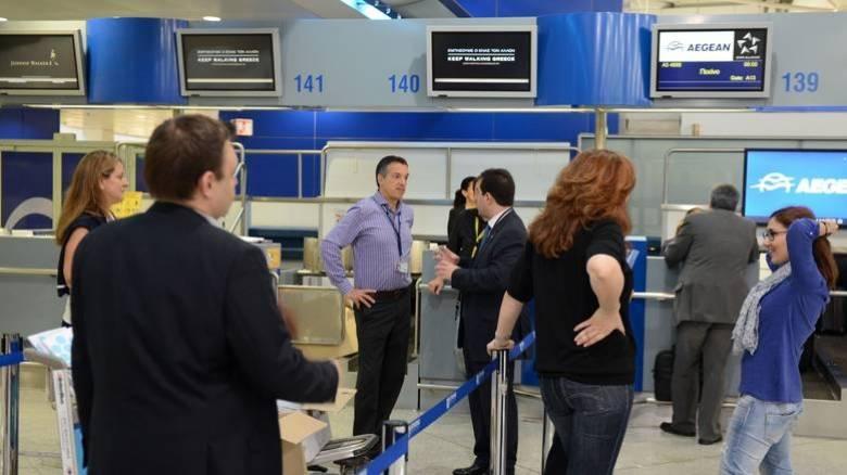 Αυξημένη η επιβατική κίνηση στα ελληνικά αεροδρόμια τον Ιανουάριο