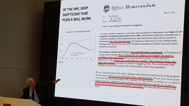 Έγγραφο του ΔΝΤ δείχνει ότι η Ελλάδα ήταν και παραμένει πειραματόζωο