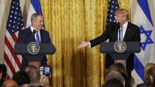 Τον Νετανιάχου υποδέχτηκε στον Λευκό Οίκο ο Τραμπ (pics)