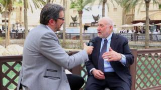 T. Στίγκλιτζ στο CNN Greece: Το ΔΝΤ ήξερε εξαρχής ότι το ελληνικό πρόγραμμα «δεν βγαίνει»