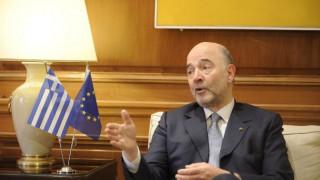 Ο Μοσκοβισί για την Ελλάδα: Να δείξουμε ότι υπάρχει φως στο τούνελ...