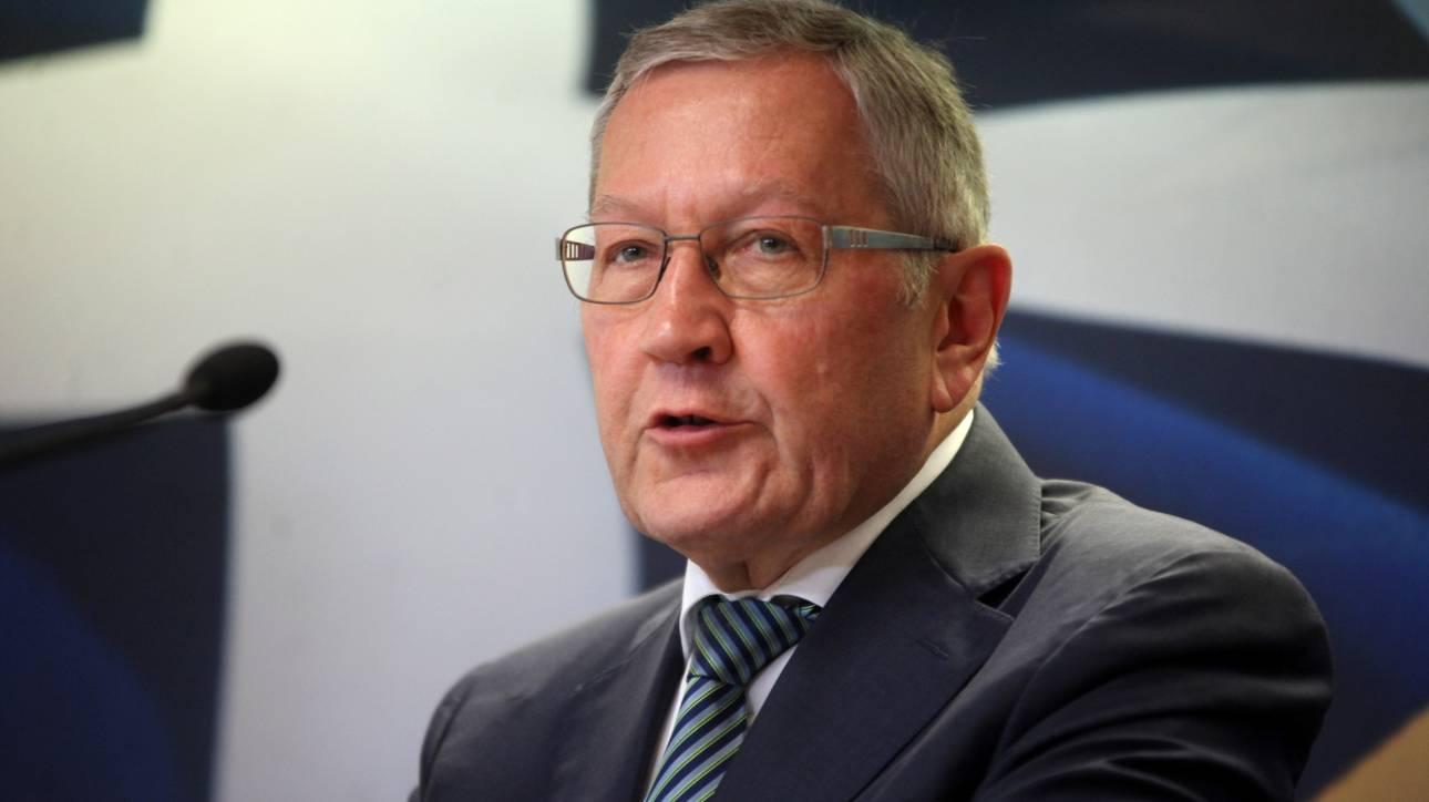 Αυστηρό μήνυμα του Ρέγκλινγκ με αιχμές για την «αδύναμη ελληνική διοίκηση»